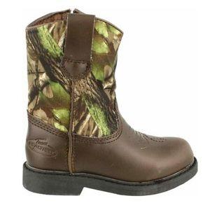 Realtree Justin Jr. Boots